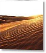 Sinai Sand Sea Metal Print
