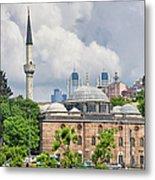 Sinan Pasha Mosque In Istanbul Metal Print