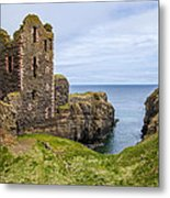 Sinclair Castle Scotland - 4 Metal Print