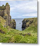 Sinclair Castle Scotland - 5 Metal Print