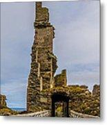 Sinclair Castle Scotland - 6 Metal Print