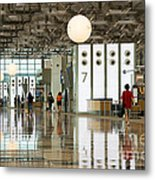 Singapore Changi Airport 02 Metal Print by Rick Piper Photography
