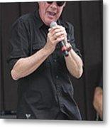 Singer Mitch Ryder Metal Print