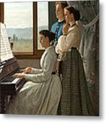 Singing A Ditty Metal Print