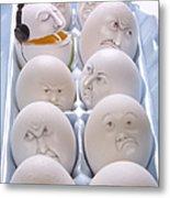 Singing Egg Metal Print