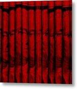 Singles In Red Metal Print