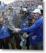 Singles Matches - 2014 Ryder Cup Metal Print