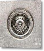 Sink Plug Metal Print
