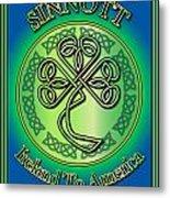 Sinnott Ireland To America Metal Print