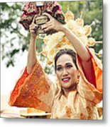 Sinulog Festival In Cebu Philippines Metal Print
