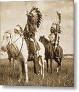 Sioux Chiefs  Metal Print