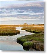 Sippewissett Marsh Metal Print