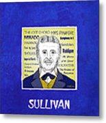 Sir Arthur Sullivan Metal Print