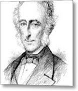 Sir Charles Wood (1800-1885) Metal Print