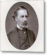 Sir Henry Thompson (1820-1904). English Surgeon. Photographed C.1882 Metal Print
