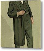Sir Samuel Wilks  British Physician Metal Print