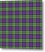Sir Walter Scott Purple And Green Metal Print by Gregory Scott