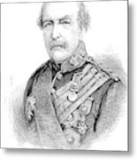 Sir William Williams  (1800-1883) Metal Print