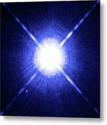 Sirius Binary Star System Metal Print