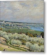 Sisley Saint-germain, 1875 Metal Print