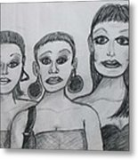 Sisters And Brother Metal Print