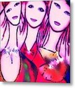 Sisters T Metal Print