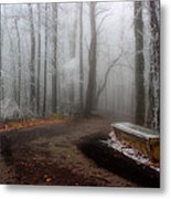 Sit And Enjoy The Nature Metal Print