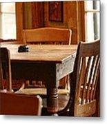 Sit Down For A Spell Metal Print