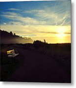 sit With Me And Watch The Sunset Metal Print