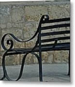 Sitting In Malta Metal Print