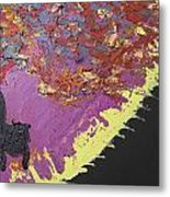 Sitting On The Edge Of The Earth Metal Print