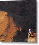Sitting On Top Of The World Metal Print