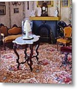 Sitting Room Metal Print