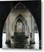 Siuslaw River Bridge Florence Oregon Metal Print