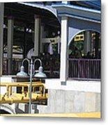 Six Flags America - Batwing Roller Coaster - 12121 Metal Print