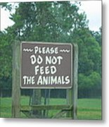 Six Flags Great Adventure - Animal Park - 121218 Metal Print