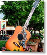 Six String Metal Print