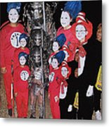 Six Things Halloween Party Collage Casa Grande Arizona 2005-2012 Metal Print