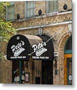 Austin Sixth Street Dueling Piano Bar Metal Print