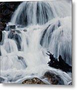 Skalkaho Waterfall Metal Print