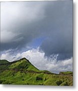 Skc 3548 Over The Western Ghats Metal Print