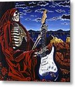Skeleton Dream Metal Print by Gary Kroman