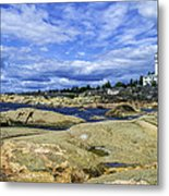 Skeppsmaln Lighthouse Metal Print