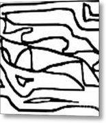 Sketch 15 Metal Print