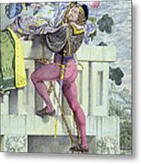 Sketch For The Passions Love Metal Print by Richard Dadd
