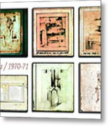 Sketches 1970 To 71 Metal Print