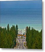 Ski Run Blvd Metal Print