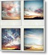 Skies Metal Print