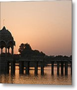 Skn 1356 Good Morning Jaisalmer Metal Print