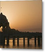 Skn 1383 The Morning Glow  Metal Print